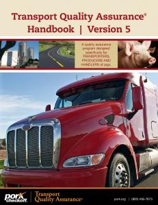 Transport Quality Assurance Handbook Version 5