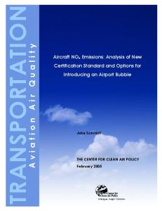 TRANSPORTATION Aviation Air Quality