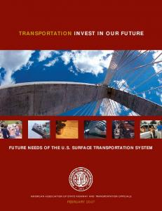 TRANSPORTATION INVEST IN OUR FUTURE