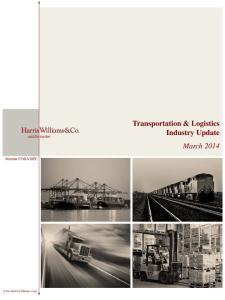 Transportation & Logistics Industry Update March 2014