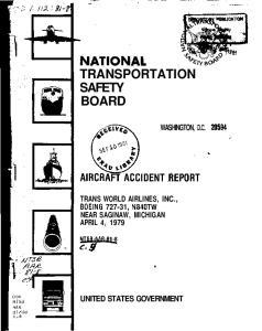 TRANSPORTATION SAFETY BOARD