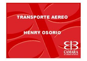 TRANSPORTE AEREO HENRY OSORIO