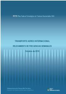 TRANSPORTE AEREO INTERNACIONAL