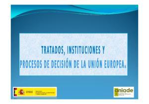 Tratados de la UE (I)