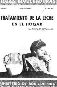 TRATAMIENTO DE LA LECHE