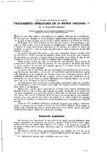 TRATAMIENTO OPERATORIO DE LA HERNIA INCUINAL (1)