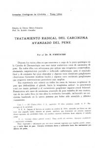 TRATAMIENTO RADICAL DEL CARCINOMA AVANZADO DEL PENE