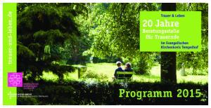 trauer-und-leben.de Programm 2015