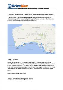 Travel 3 Australian Coastlines from Perth to Melbourne