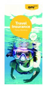 Travel Insurance. Policy Wording