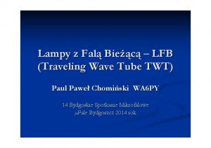 (Traveling Wave Tube TWT)