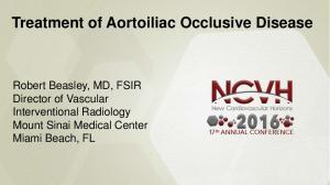 Treatment of Aortoiliac Occlusive Disease