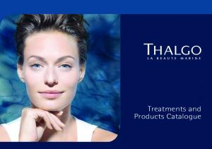 Treatments and Products Catalogue
