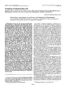Trehalase of Escherichia coli