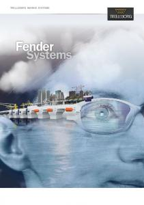 Trelleborg MARINE SYSTEMS. Fender. Systems