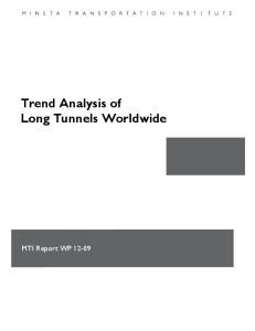 Trend Analysis of Long Tunnels Worldwide