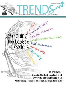 TRENDS. Developing Holistic Leaders. Diversity. Communication. Critical Thinking. Relationship Building