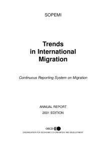Trends in International Migration