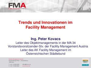 Trends und Innovationen im Facility Management