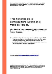 Tres historias de la contracultura juvenil en el Valle de Toluca
