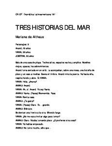 TRES HISTORIAS DEL MAR
