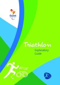 Triathlon. Explanatory Guide