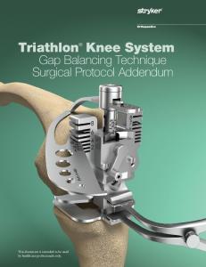 Triathlon Knee System