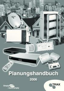 TRIAX Planungshandbuch