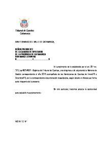 Tribunal de Cuentas Catamarca