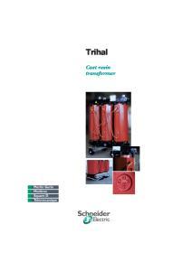 Trihal. Cast resin transformer