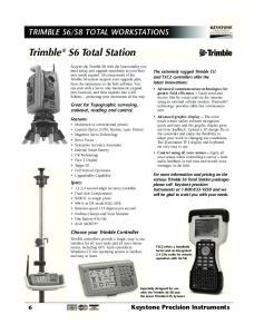 Trimble S6 Total Station