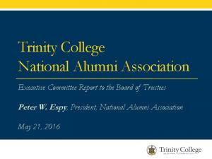 Trinity College National Alumni Association