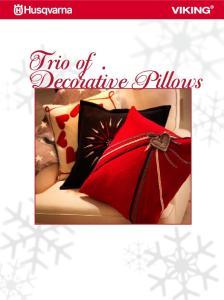 Trio of.. Decorative Pillows