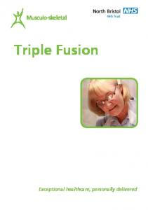 Triple Fusion. Exceptional healthcare, personally delivered