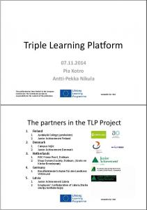 Triple Learning Platform