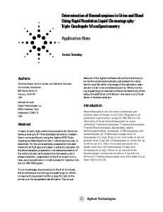 Triple Quadrupole Mass Spectrometry