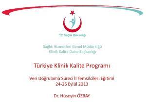 Türkiye Klinik Kalite Programı