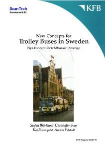 Trolley Buses in Sweden
