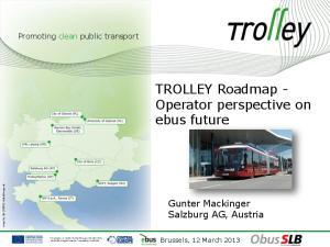 TROLLEY Roadmap - Operator perspective on ebus future