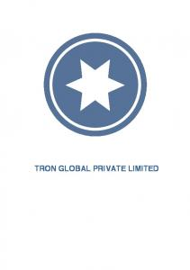 TRON GLOBAL PRIVATE LIMITED