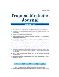 TROPICAL MEDICINE JOURNAL