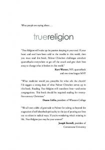 truereligion What people are saying about