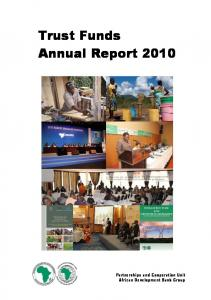 Trust Funds Annual Report 2010