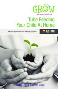 Tube Feeding Your Child At Home