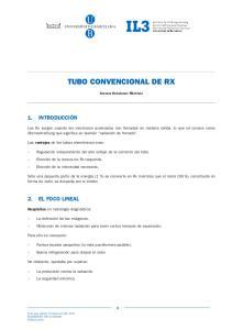 TUBO CONVENCIONAL DE RX