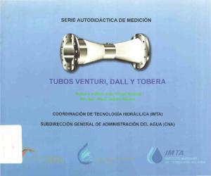 TUBOS VENTURI, DALL Y TOBERA