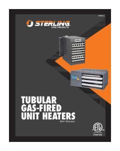 TUBULAR GAS-FIRED UNIT HEATERS