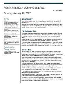 Tuesday, January 17, 2017