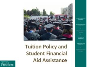 Tui%on Policy and Student Financial Aid Assistance