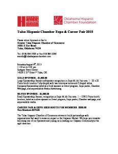 Tulsa Hispanic Chamber Expo & Career Fair 2015
